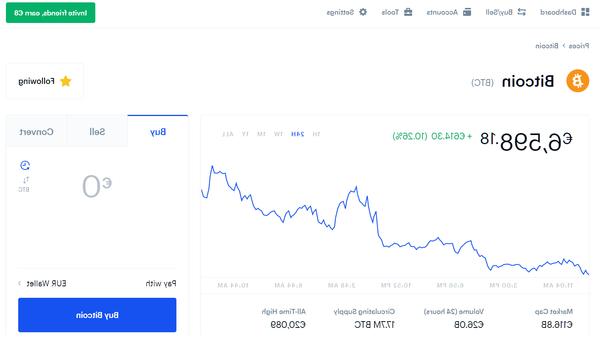 Comment recevoir des Bitcoin sur Coinbase ?